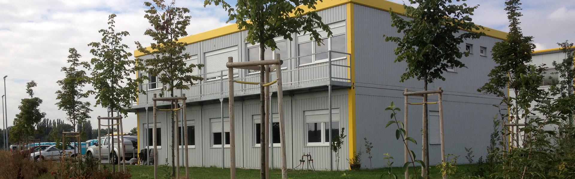 Containeranlage als Wohngebäude