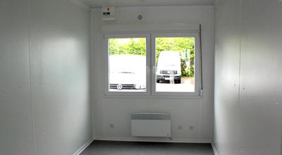 Einzelcontainer ohne Einbauten