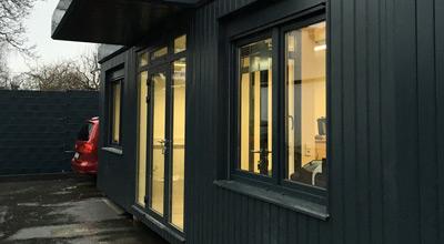 Bürocontainer-Anlagen bis 100m²