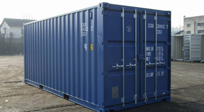 Seecontainer und Lagercontainer
