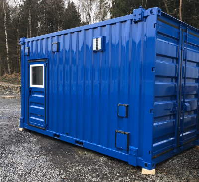 Stahlcontainer, Technikcontainer