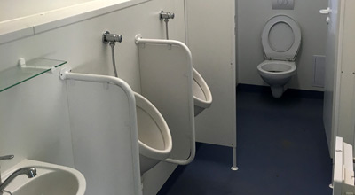 Sanitärcontainer WC