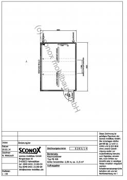 2140283 - Standard Bürocontainer ca. 12 m²