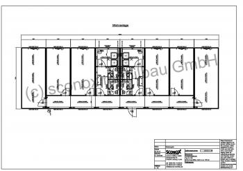 Wohneinheiten für 12 Personen, ca. 180 m², Duschen, WC´s,  Standard-Dämmung
