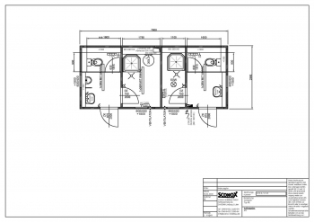 2181866 - D/H Dusch-/WC-Container 7m*3m