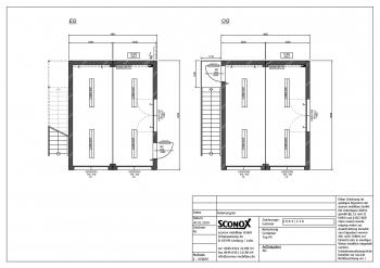 2181884 - 2-geschossige Doppelanlage mit Außentreppe, Dämmung EneV, Klima
