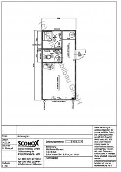 Wohncontainer, Standard mit ca. 18 m² Grundfläche - 2140481