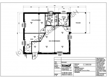 2131921 wohngeb ude mit terrasse ca 83 m sconox. Black Bedroom Furniture Sets. Home Design Ideas
