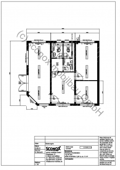 2131509 - Ansprechendes Bürogebäude aus Containern, ca. 71 m²
