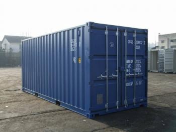 20' Seecontainer neuwertig, one-way, ISO Container 20'GP