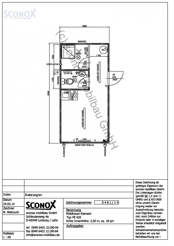 2140481 wohncontainer standard ca 18 m sconox gmbh b rocontainer preise. Black Bedroom Furniture Sets. Home Design Ideas