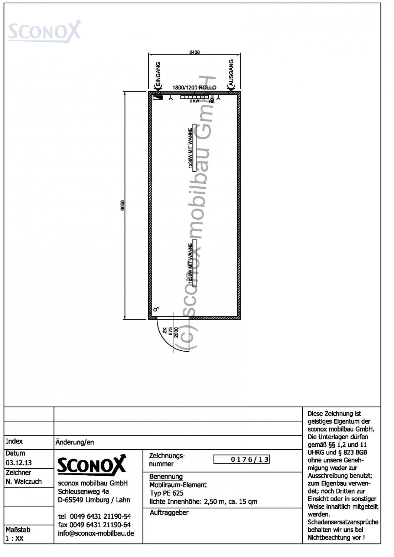Preise Und Beispiele Fur Burocontainer Und Wohncontainer Sconox