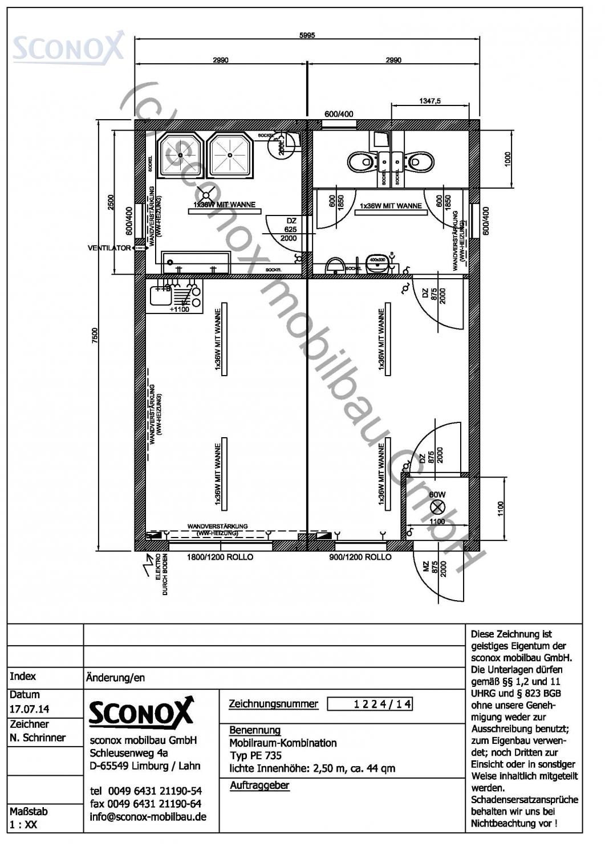 2141224 doppelanlage sozial wc dusche ca 45 m. Black Bedroom Furniture Sets. Home Design Ideas
