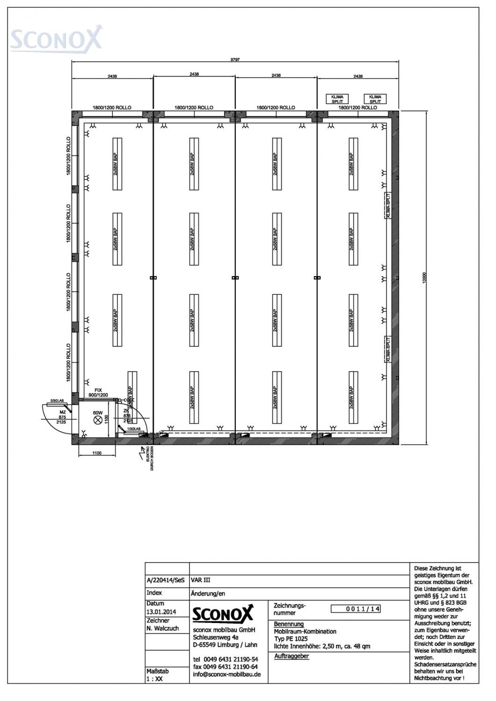 2140011a gro raum b rocontainer enev2014 98 m sconox gmbh b rocontainer preise. Black Bedroom Furniture Sets. Home Design Ideas