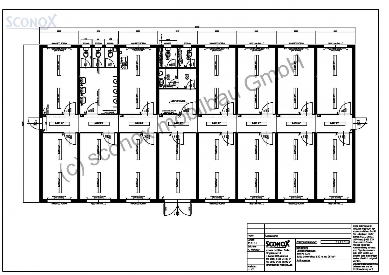 2140538 b rogeb ude ebenerdig ca 288 m sconox gmbh b rocontainer preise. Black Bedroom Furniture Sets. Home Design Ideas