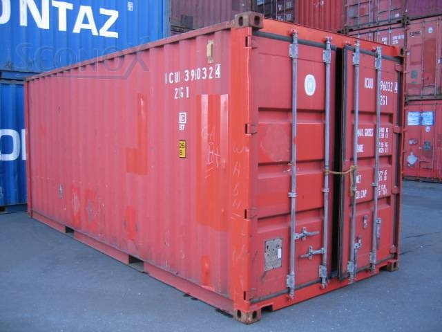 20\' Seecontainer gebraucht, ISO Container 20\'GP