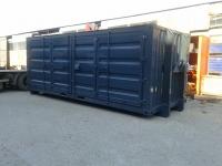 So3-1 - Stahlcontainer - 6,42 x 2,25 x 2,49 m, 20' mit Abrollvorrichtung nach DIN 30722