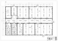 3-geschossige Anlage (EneV 2014) mit innenliegender Treppe, Gemeinschaftsküche, Gemeinschaftsräume, ca. 50 Personen