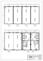 2182526_Var. 1 - 2-teilige Anlage, Saisonarbeitskräfte, Wohnblock, Sozialblock