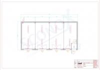 20OPPG 0474 - Großraum-Bürocontainer, 72m², Bodenfliesen, Dämmung für EneV 2014