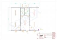 20OPPG 1673-Bürocontainer / Sozialeinheit, 45m²