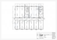 20OPPG 0234-Bürocontainer-Anlage, ca. 180 m², mit Sozialtrakt