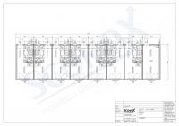 20OPPG 0514 - 7 Wohneinheiten inkl. Miniküche und Technikraum, Dämmung für EneV, WW-Heizkörper, bauseitige Therme
