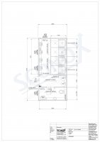 20OPPG 0365 - Sozialcontainer mit 4 Duschen in Einzelkabinen & WC