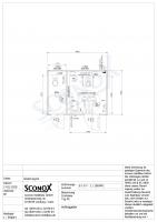 20OPPG 0307-2 - WC-Kombination 4m*3m, barrierefrei und mit Einzel-WC