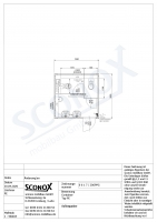 20OPPG 0617 - Herren-WC 3m*3m, Vorwand/Sockelkanal