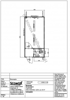 2131061 - Bürocontainer 20 Fuß, Windfang, WC-Einbau