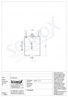 Isolierter 10ft-Container, MZ-Tür, Staplertaschen - 219 0549