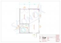 20OPPG 0013 - Wohncontainer ca. 30m², EnEV, bodentiefe Fenster, wandhängendes WC, Eckdusche