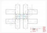20OPPG 0081 - Wohncontainer-Anlage für 4 Wohneinheiten á 42m², EnEV, Split-Klima