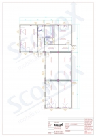 20OPPG 0106 - L-förmiges Wohngebäude, ca 140 m², Fassade: Rauputz, Dämmung für EnEV, bauseitige Sanitärelemente