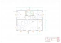 20OPPG 0312 - Wohncontainer, ca. 63 m², Dämmung für EnEv, Küchenvorbereitung, bauseitige Sanitärelemente