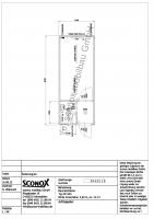 2130422 - Standardcontainer 20 Fuß mit Windfang, WC-Einbau