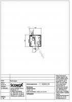 2140284 - Einzel WC-Container, Standard 1,70 m*1,70 m