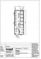 2140555 - Dusch-/Waschcontainer, 20 Fuß