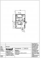 sanit rcontainer mit dusche und wc sconox gmbh b rocontainer preise. Black Bedroom Furniture Sets. Home Design Ideas