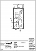2130778A - Dusch/WC-Container, 6 m*3 m