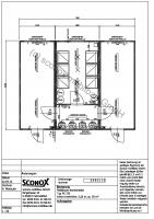 2130983 - Schwarz-Weiß-Anlage, 3 Container, ca. 50 m² Grundfläche