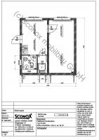 Wohncontainer-Anlage mit ca. 36 m² Grundfläche; Variante 2 - 2132343
