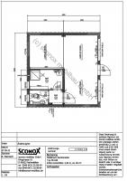 Wohncontainer-Anlage mit ca. 36 m² Grundfläche; Variante 1 - 2131790
