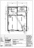 2141224 - Doppelanlage aus Bürocontainern, Sozialraum und Dusche/WC, ca. 45 m² Grundfläche