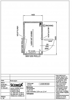 a-0191-09-2013 - Pförtnercontainer ca. 3,5 m²